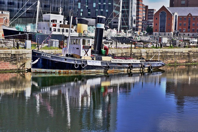 Header of Albert Dock
