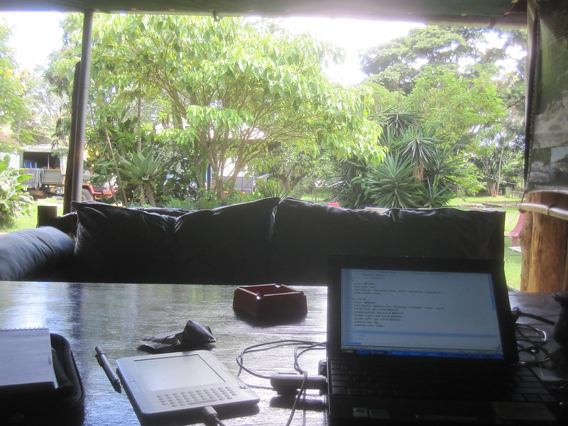View from Desk Kenya