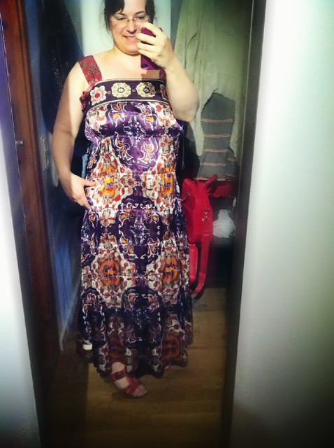 parlour silk dress