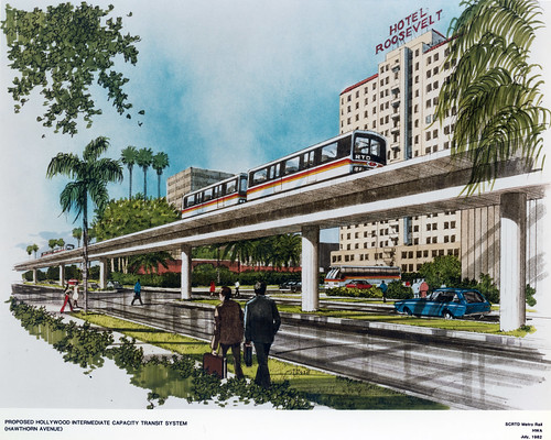 Proposed Hollywood Intermediate Capacity Transit System