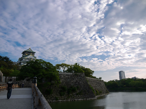 Osaka castle by hyossie