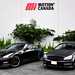 2012 Nissan GTR Black Edition with Mercedes C63 Coupe