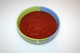 04 - Zutat Tomatenstücke / Ingredient tomatoes