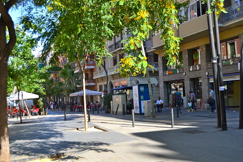 Square in Poble Sec