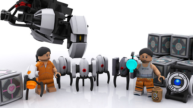 Portal Minifigs