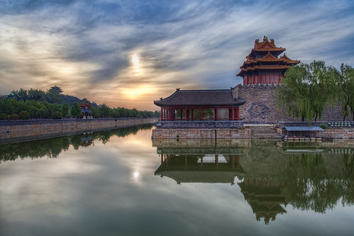 Sunrise over the Forbidden City