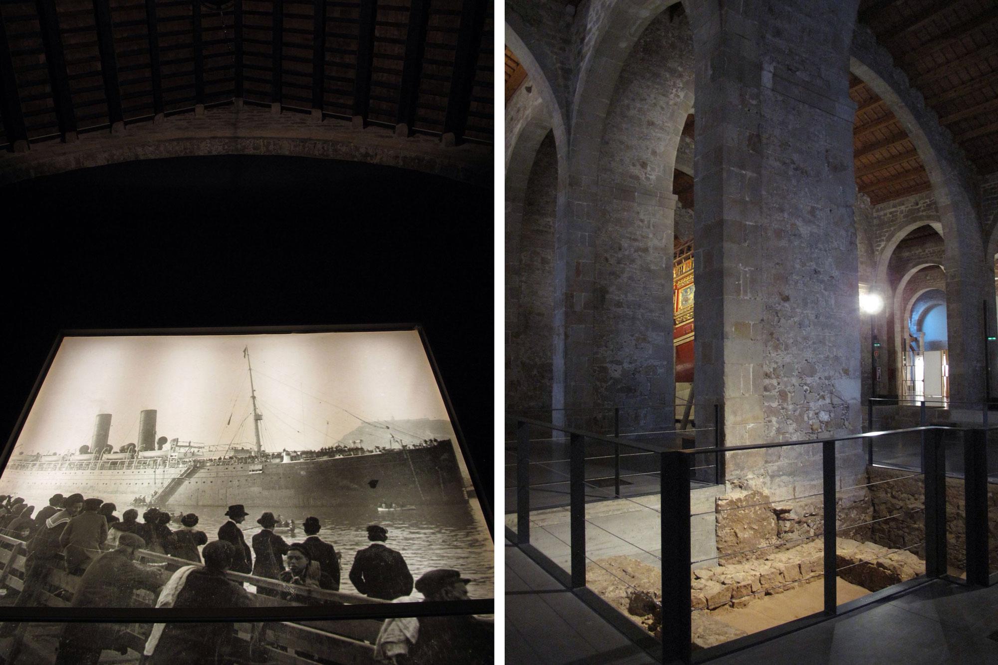 reales atarazanas barcelona_estudios arqueologicos_romanos_museo maritimo