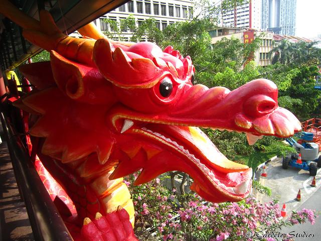 Eu Tong Sen Street & New Bridge Road - Dragon 01