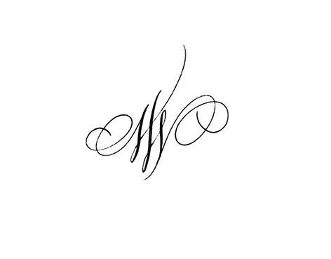 13355493515 - Modele tatouage lettres entrelacees ...