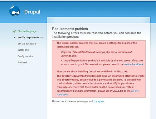 installation Drupal 6