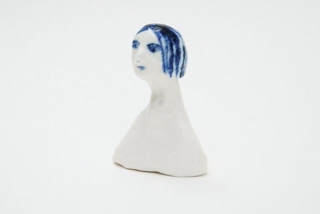 porcelain bust