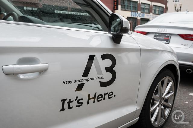 Audi A3 outside of Urban Studio