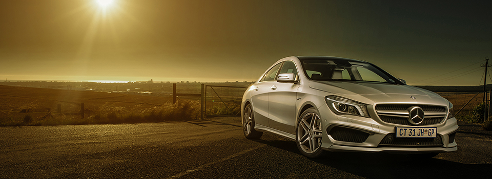 TopCar shoots for issue May 2014 (CLA AMG and Golf R)