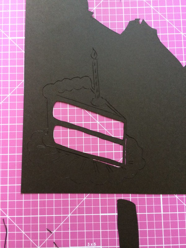 Papercut process shot