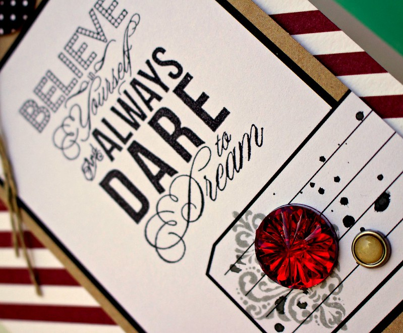 TERESA COLLINS DESIGN TEAM Dare To Dream Card C