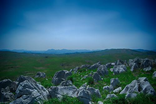 Karst tableland