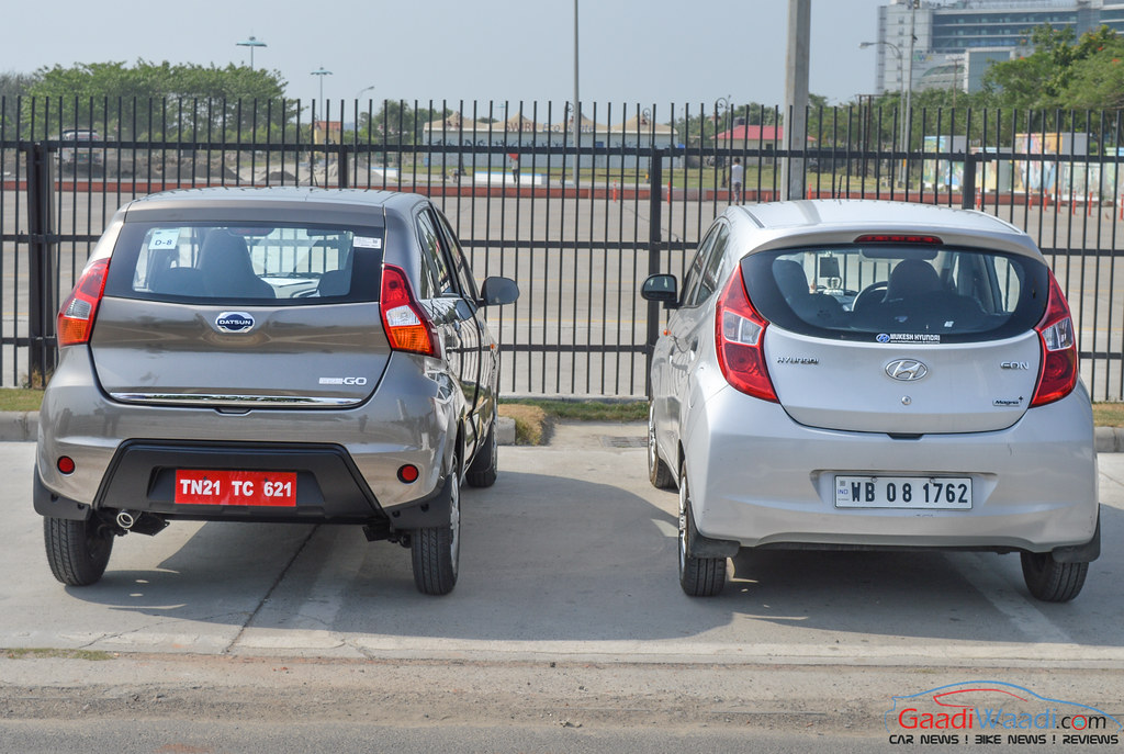 Datsun redigo vs Hyundai EON Comparison