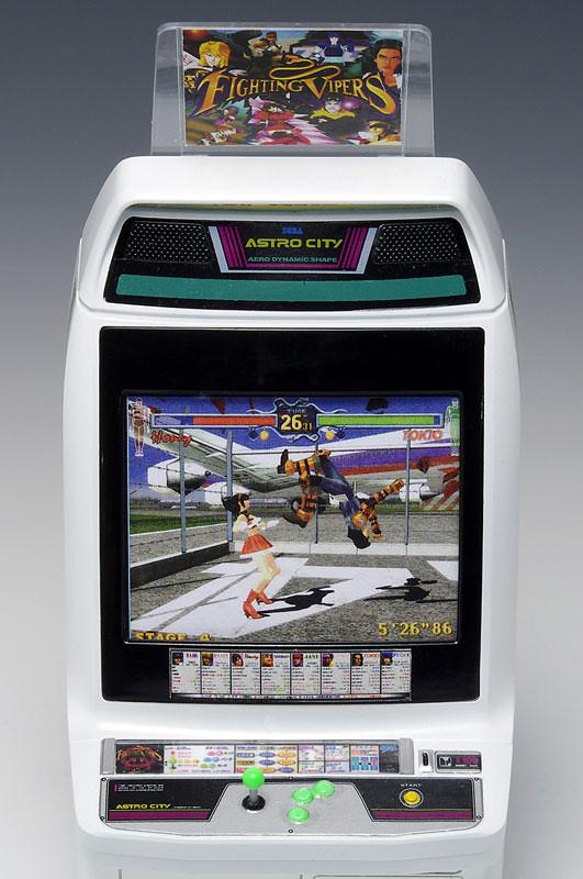 童年的熱血回憶再度登場!1/12比例Astro City 街機框體模型 アストロシティ筐体