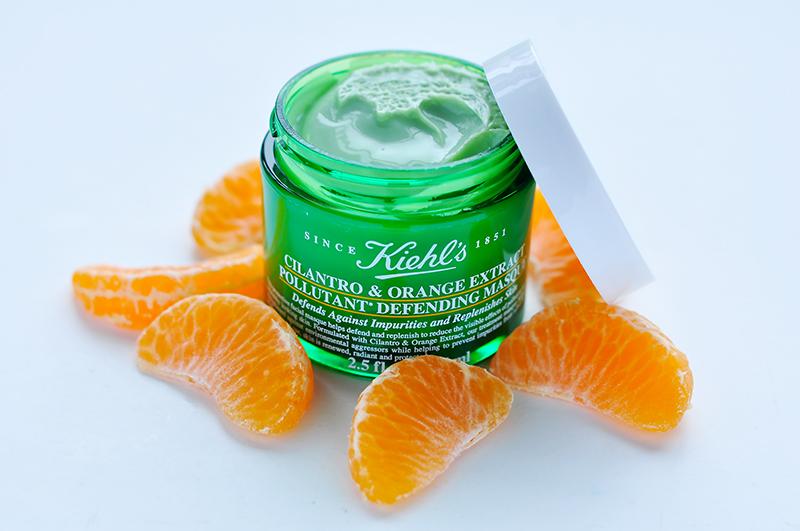 stylelab-beauty-blog-kiehls-cilantro-orange-extract-pollutant-defending-masque-1