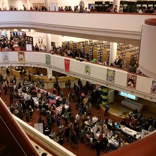 From the third floor #toronto #tcaf #torontoreferencelibrary