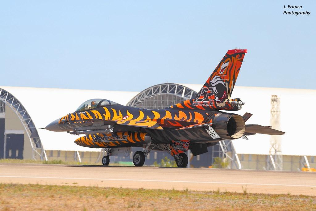 NTM 2016 - Tiger Meet Zaragoza - F-16 Falcon   NTM 2016 ...