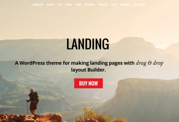 Themify Landing v1.2.5 – WordPress Theme