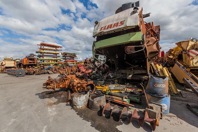 Récupération agricole, Piéces d'occasion à Talcy