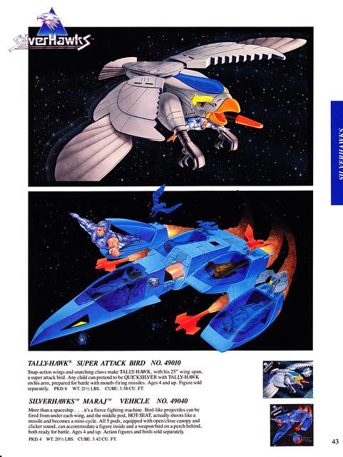 Silverhawks (KENNER) 1987 - 1988 6851375600_91972d62bc_z