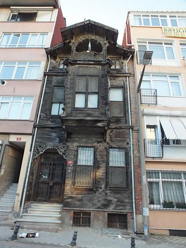 Történelmi faház Isztambulban