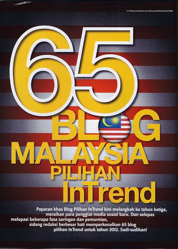 InTrend March 2012 - 65 Blog Malaysia Pilihan InTrend