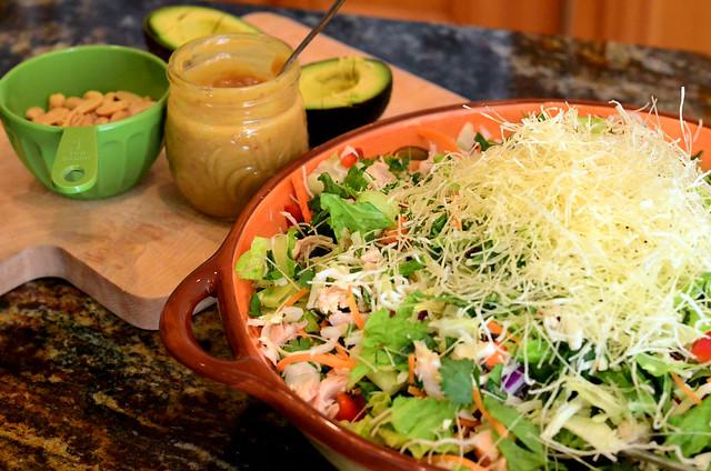 2012-03-25 Thai Chicken Salad 069