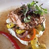 Pecan Encrusted Salmon @ Grandale Farms LLC by dionhinchcliffe