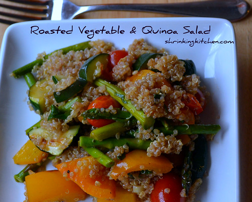 Roasted Vegetable & Quinoa Salad