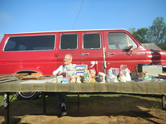 Pickens Flea Market Vendor
