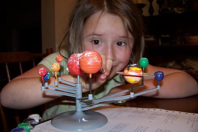 Celeste & the Solar System