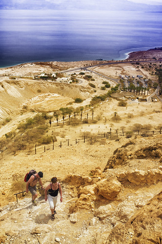 hiking oasis deadsea eingedi