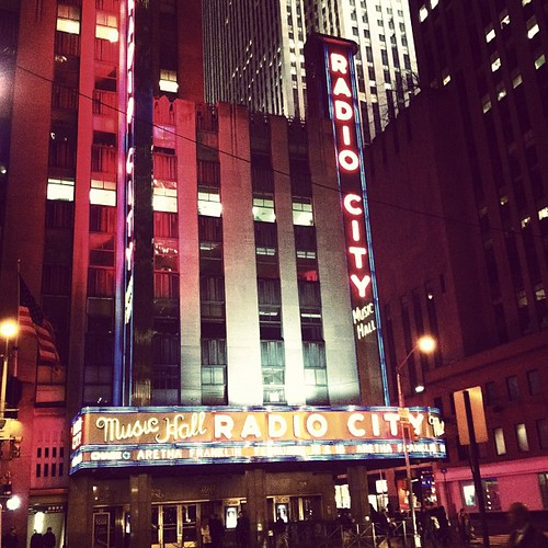 radio city music hall :)