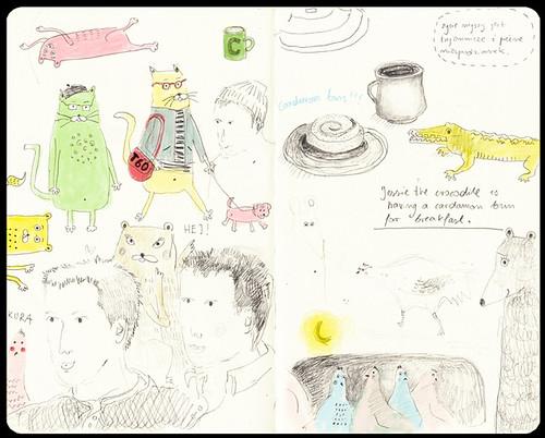 doodles in stockholm