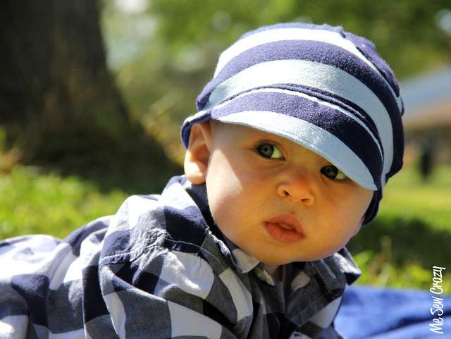 Baby Knit Baseball Cap, More Sizes... - The Sewing Rabbit