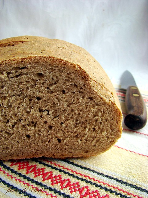 хлеб пшенично-ржаной на опаре 2