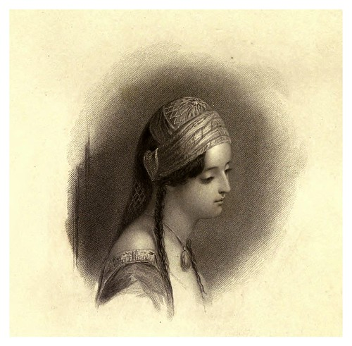 013-Teresa la criada de Atenas-Finden's illustrations of the life and works of Lord Byron…1833-William y Edward Finden