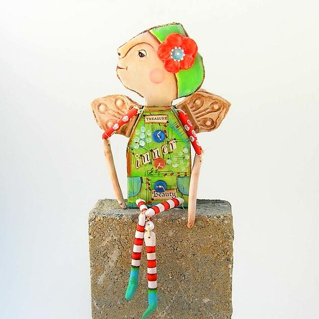 Angel Paper Doll Art