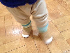 新しい靴!(2012/3/31)