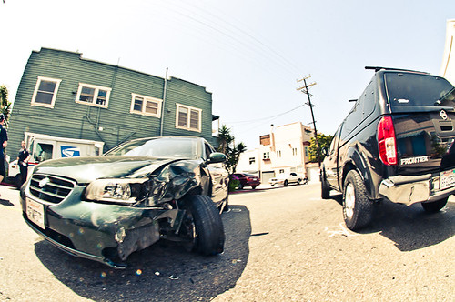 24th and Pacific Car accident