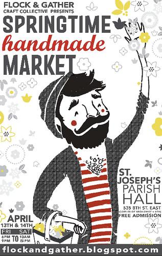 Springtime Market Poster