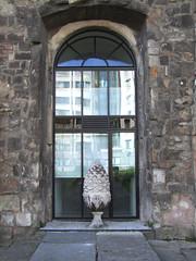 west doorway (inside)