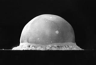 La primera explosión nuclear (Trinity Site, 1945)