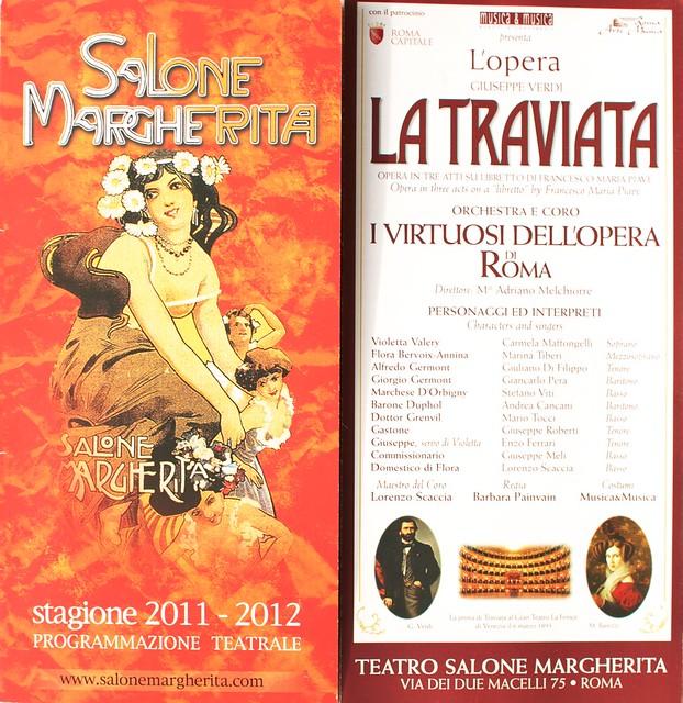 La Traviata al Salone Margherita 2011