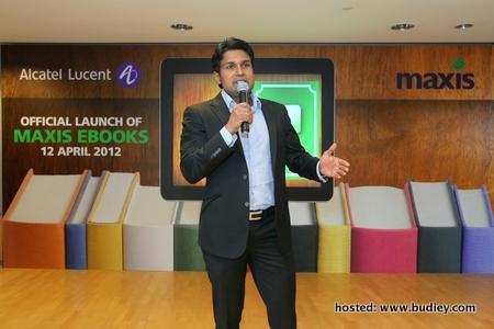 Maxis Melancarkan Perkhidmatan E-Buku Yang Pertama Di Malaysia