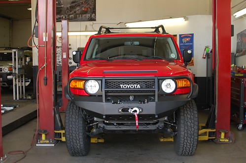 Bumper Installed